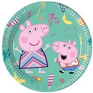 """Papírové talíře prasátko peppa """"peppa pig"""", 20 cm, 8 ks - Talíř"""
