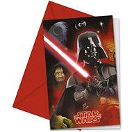 Pozvánky star wars - hvězdné války - 6 ks - Party doplňky