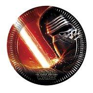 Talíře papírové star wars - hvězdné války - the force awaknes - 23 cm - 8 ks - Jednorázové nádobí