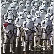 Ubrousky star wars - hvězdné války - the force awaknes - 33x33 cm - 20 ks - Papírové ubrousky