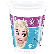 Plastové kelímky frozen - ledové království - 200 ml - 8 ks - Kelímek