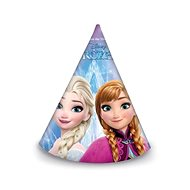 Papírové kloboučky frozen - ledové království, 6 ks - Party doplňky