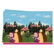 Ubrus máša a medvěd 120x180 cm - Party doplňky