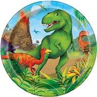 Talíře dinosaurus 8 ks, 17 cm - Jednorázové nádobí