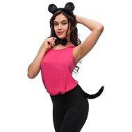 Dětská - dospělá sada myška - unisex - Doplněk ke kostýmu