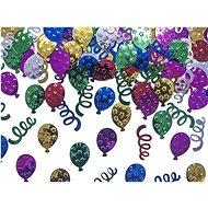 Metalické - konfety na stůl balení 15 g
