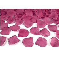 Okvětní lístky růží textilní - růžové 100 ks