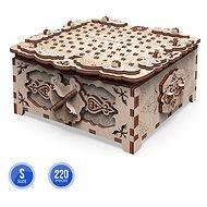 3D dřevěná stavebnice Floral Fantasy krabička - Dřevěná stavebnice