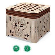 3D dřevěná stavebnice Secret of Tiger krabička - Dřevěná stavebnice