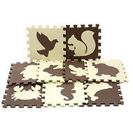 Pěnová podložka na podlahu zvířátka - Pěnové puzzle