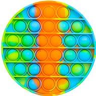 Pop it - Round 12.5cm - Orange-blue