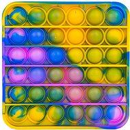 Pop it - Square 12.5cm Blue-yellow