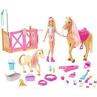 Barbie rozkošný koník s doplňky - Panenka