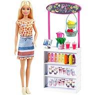 Barbie smoothie stánek s panenkou - Panenka