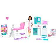Barbie klinika 1. pomoci s doktorkou herní set - Panenka