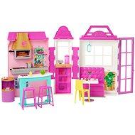 Barbie restaurace herní set - Panenka