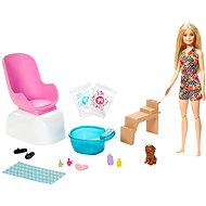 Barbie manikúra/pedikúra herní set - Panenka
