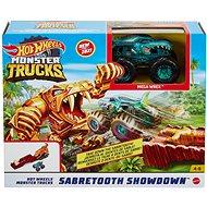 Autodráha Hot wheels monster trucks akční herní set různé druhy