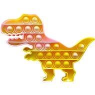 Pop it Pop it - dinosaurus žlutě mrarovaný