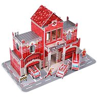 Fiesta Crafts - 3D puzzle - Hasičská stanice