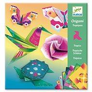 Origami neonové Tropy
