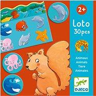 Zvířátkové loto - Didaktická hračka