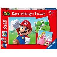 Ravensburger 051861 Super Mario 3x49 pieces