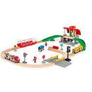 Brio World 33989 Sada hlavního nádraží - Vláčkodráha