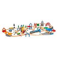 Brio World 33977 SMART TECH SOUND Deluxe sada s akčními tunely  - Vláčkodráha