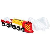 Brio World 33606 Vlak se sněhovým pluhem - Vláčkodráha