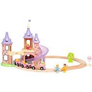 Brio World 33312 Disney Princess Zámecká vlaková sada  - Vláčkodráha