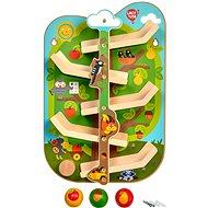 Lucy & Leo 237 Strom se zvířátky - dřevěná nástěnný tobogán
