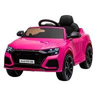 Elektrické autíčko Audi RSQ8, ružové