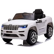 Elektrické autíčko JEEP GRAND CHEROKEE 12V, bílé