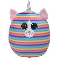 Ty Squish-a-Boos Heather, 22 cm - kočka s rohem