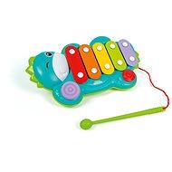 Hudební hračka Xylofon dino