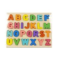 Dřevěná barevná abeceda
