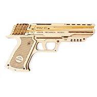 Ugears Wolf-01 model pistole - Dřevěná stavebnice