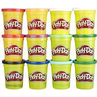 Play-Doh Balení 12 ks kelímků zimní barvy - Modelovací hmota