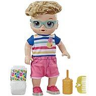 Baby Alive Chodící panenka s blond vlasy