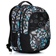 Explore Daniel Peace black - Školní batoh