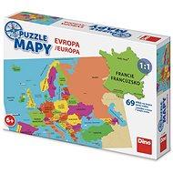 Mapa Evropy - Puzzle