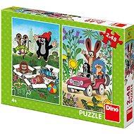 Little Mole rejoices - Puzzle