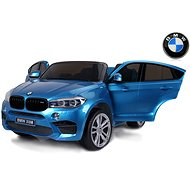 BMW X6 M blue painted - Children's electric car