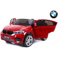 BMW X6 M red painted - Children's electric car