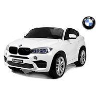 BMW X6 M bílé - Dětské elektrické auto