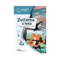 Kouzelné čtení Hra Zvířátka z lesa - Kniha pro děti