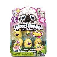 Hatchimals zvířátka ve vajíčku čtyřbalení - série III - Sběratelská sada