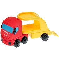 Tahač IVECO s červeným autem - Auto