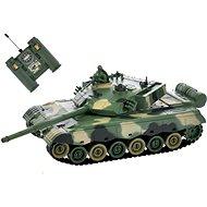 RC tank zeleno-hnědý - Tank na dálkové ovládání